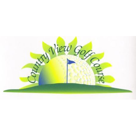 Logo of golf course named Country View Golf Course