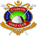 Logo of golf course named County Louth Golf Club