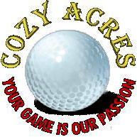 Logo of golf course named Cozy Acres Golf Links