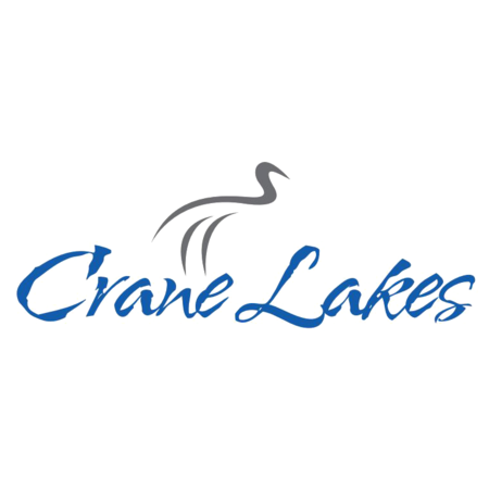 Logo of golf course named Crane Lakes Golf and Country Club
