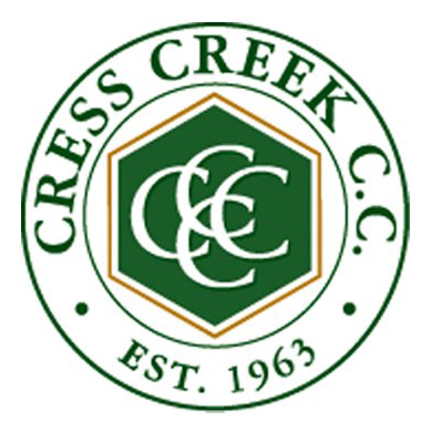 Logo of golf course named Cress Creek Country Club