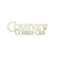 Logo of golf course named Crestview Country Club