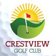 Logo of golf course named Crestview Golf Club