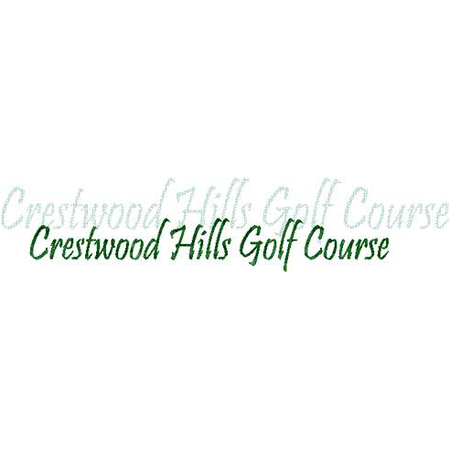 Logo of golf course named Crestwood Hills Golf Course