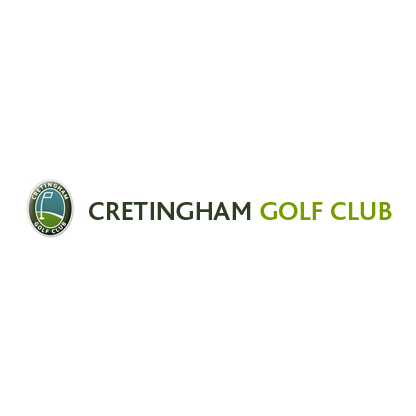 Logo of golf course named Cretingham Golf Club