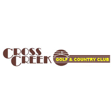 Logo of golf course named Cross Creek Country Club