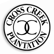 Logo of golf course named Cross Creek Plantation