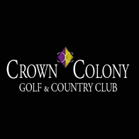 Logo of golf course named Crown Colony Golf and Country Club