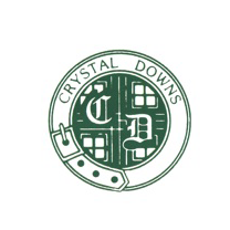 Logo of golf course named Crystal Downs Country Club