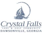 Logo of golf course named Crystal Falls Golf Club