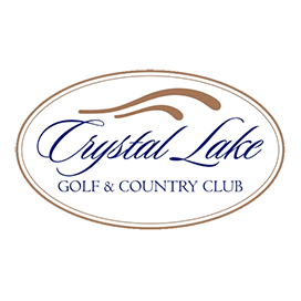 Logo of golf course named Crystal Lake Golf and Country Club