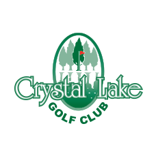 Logo of golf course named Crystal Lakes Golf Club