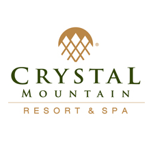 Logo of golf course named Crystal Mountain Resort
