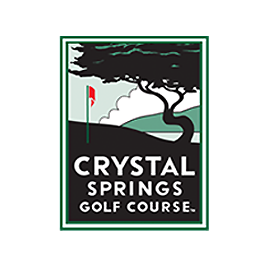 Logo of golf course named Crystal Springs Golf Course