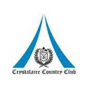 Logo of golf course named Crystalaire Country Club