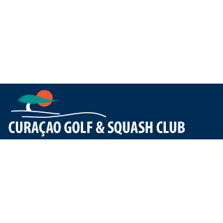 Logo of golf course named Curacao Golf and Squash Club