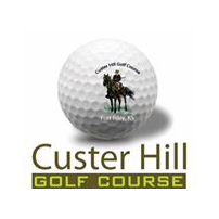 Logo of golf course named Custer Hill Golf Course