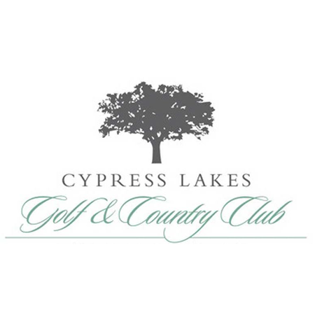 Logo of golf course named Cypress Lake Country Club