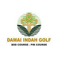 Logo of golf course named Damai Indah Golf (Bumi Serpong Damai)