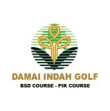 Logo of golf course named Damai Indah Golf (Pantai Indah Kapuk)
