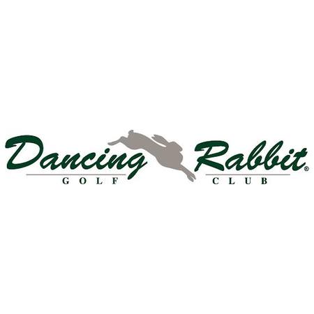Logo of golf course named Dancing Rabbit Golf Club