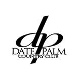 Logo of golf course named Date Palm Country Club