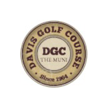 Logo of golf course named Davis Golf Course