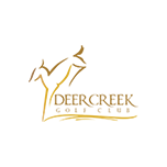 Logo of golf course named Deer Creek Golf Club at Meadow Ranch