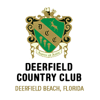 Logo of golf course named Deerfield Country Club