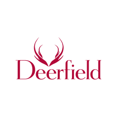 Logo of golf course named Deerfield Golf and Tennis Club