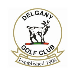 Logo of golf course named Delgany Golf Club