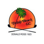 Logo of golf course named Delray Beach Golf Club