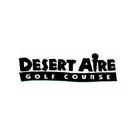 Logo of golf course named Desert Aire Golf Course
