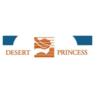 Logo of golf course named Desert Princess Country Club