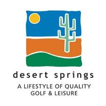 Logo of golf course named Desert Springs Golf Club