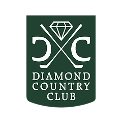 Logo of golf course named Diamond Country Club