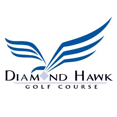 Logo of golf course named Diamond Hawk at Diamond Hawk Golf Course