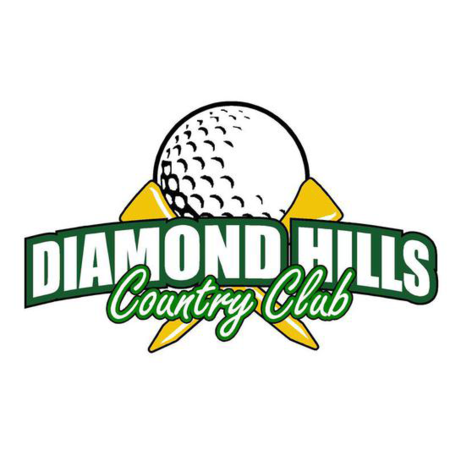 Logo of golf course named Diamond Hills Country Club