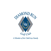 Logo of golf course named Diamond Run Golf Club