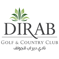 Logo of golf course named Dirab Golf and Country Club
