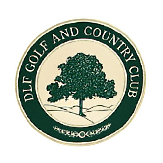 Logo of golf course named Dlf Golf and Country Club