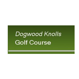 Logo of golf course named Dogwood Knolls Golf Course