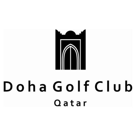 Logo of golf course named Doha Golf Club