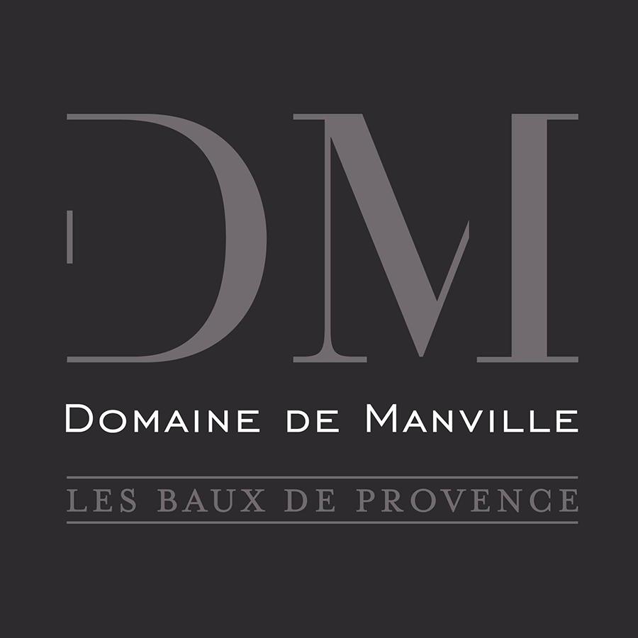 Logo of golf course named Domaine de Manville