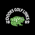 Logo of golf course named Dooks Golf Links