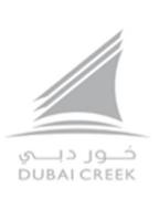 Logo of golf course named Dubai Creek Golf and Yacht Club