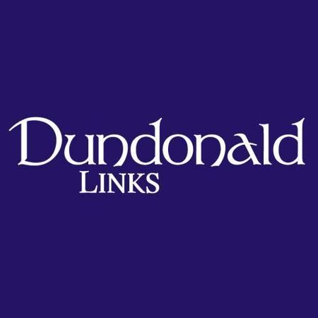 Logo of golf course named Dundonald Links