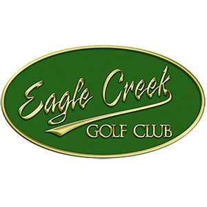 Logo of golf course named Eagle Creek Golf Club