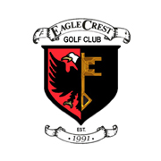 Logo of golf course named Eagle Crest Golf Club