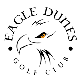 Logo of golf course named Eagle Dunes Golf Club